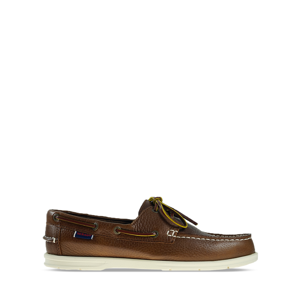 Ανδρικά Boat Shoes Sebago Naples Brown Δέρμα