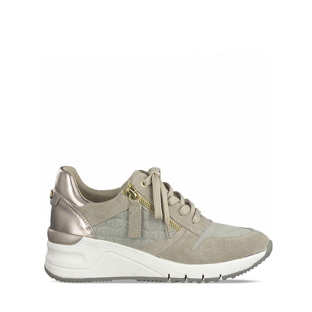 Γυναικεία Sneaker Tamaris 23702 Taupe Comb #