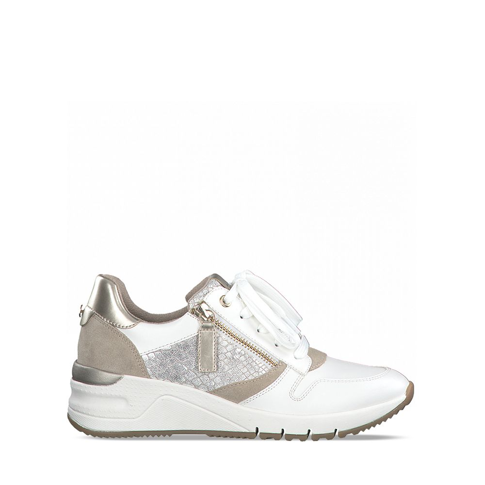 Γυναικεία Sneaker Tamaris 23702 Wht/LT.Gold Ct