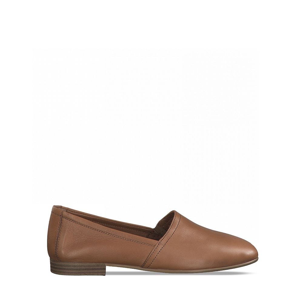 Γυναικεία Slip On Tamaris 24233 Cuoio