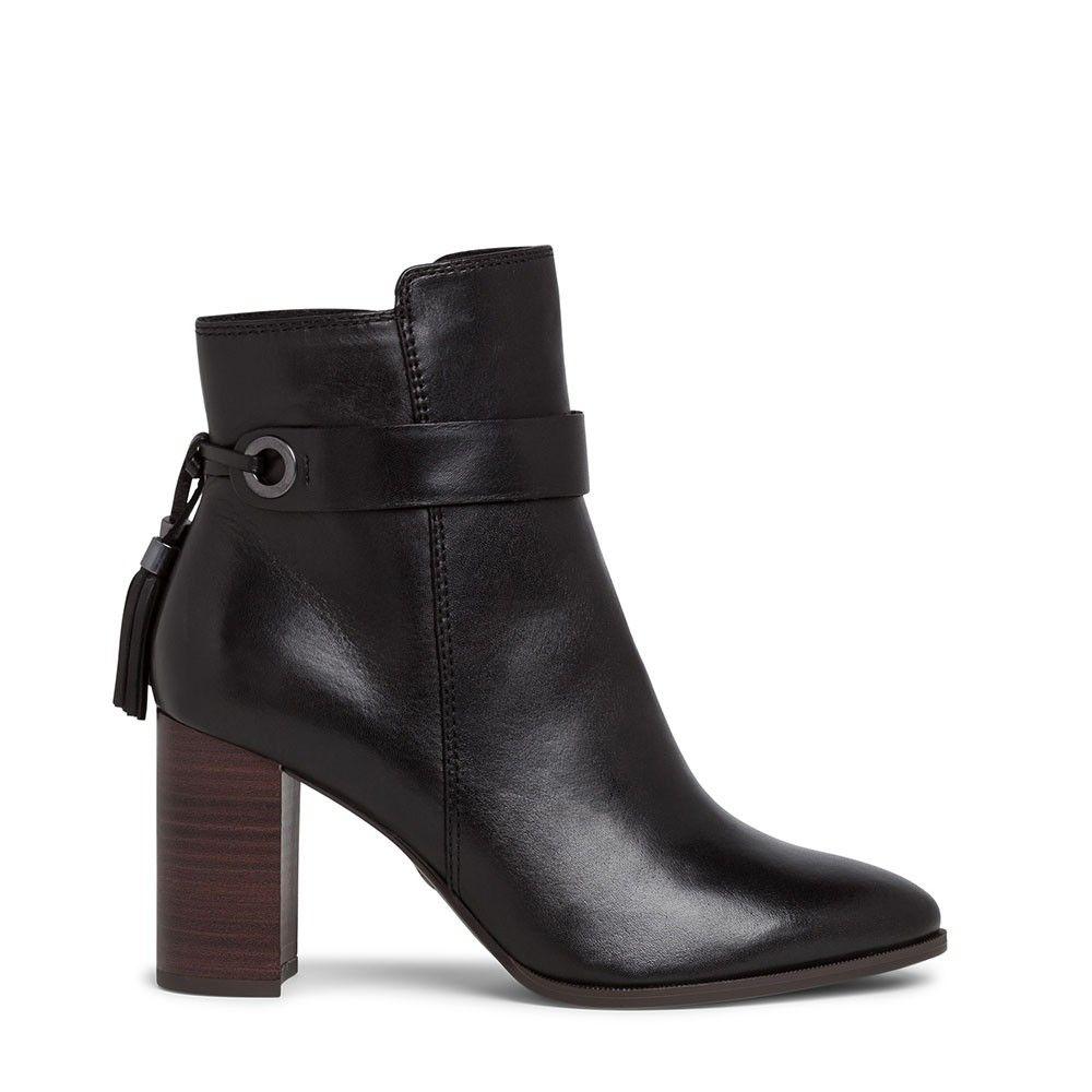 Γυναικεία Μποτάκια Tamaris 25359 Black leather