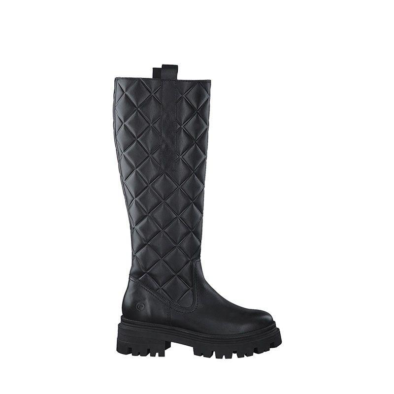 Γυναικείες Μπότες Tamaris 25633 Black Struct