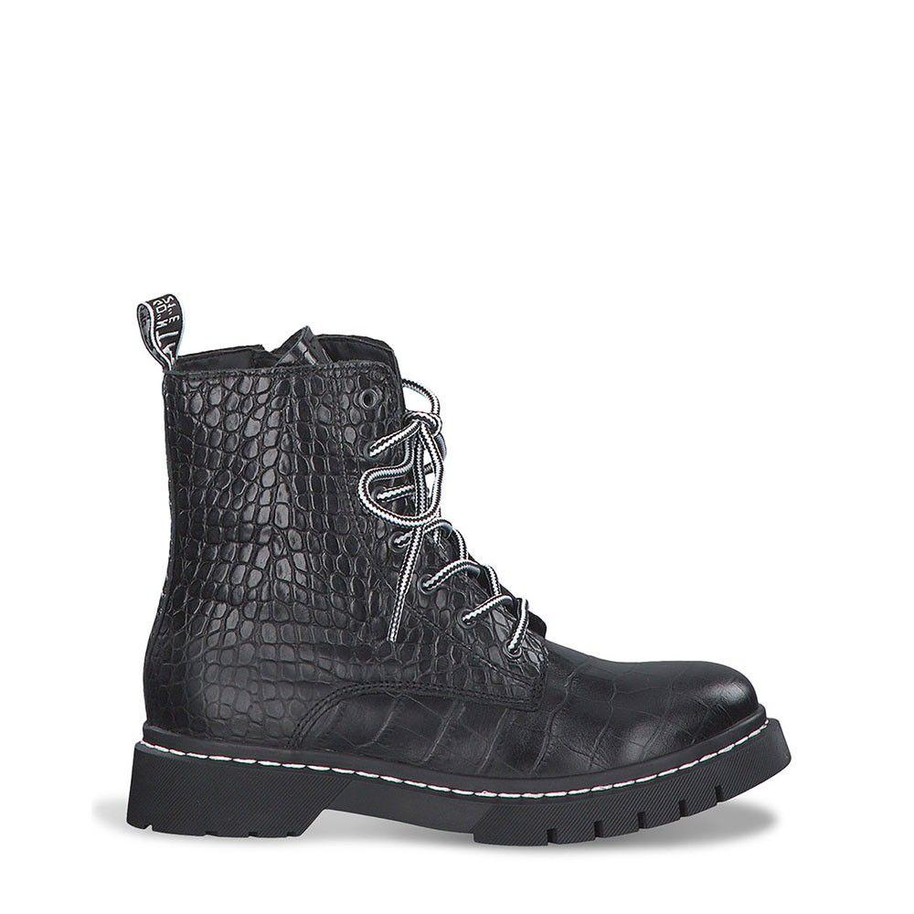 Γυναικεία Μποτάκια Tamaris 25865 Black Croco