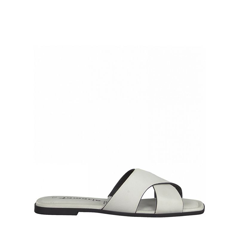 Γυναικεία Mules Tamaris 27104 White