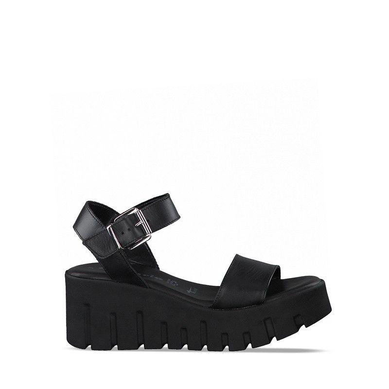 Γυναικεία Heeled Sandals 28708 Black