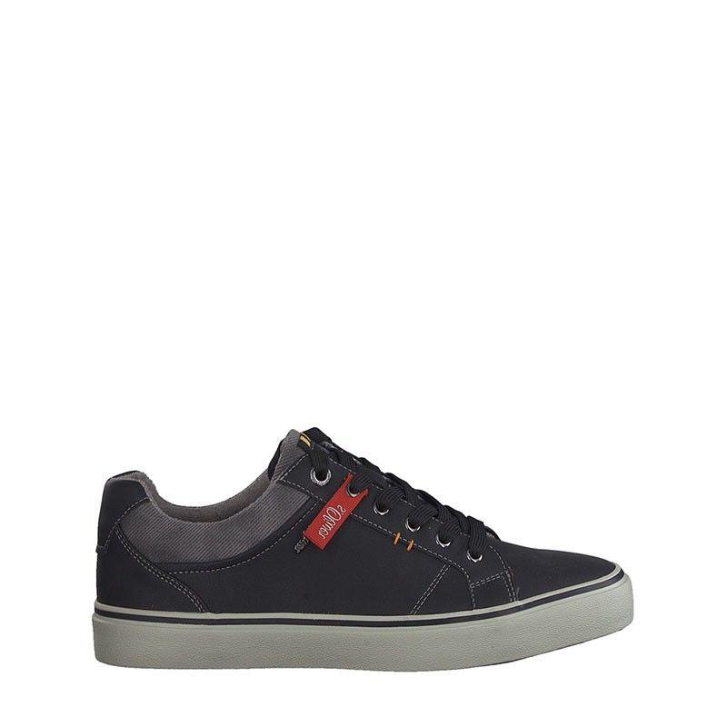 Ανδρικά Casual Παπούτσια S.Oliver 13609 Black