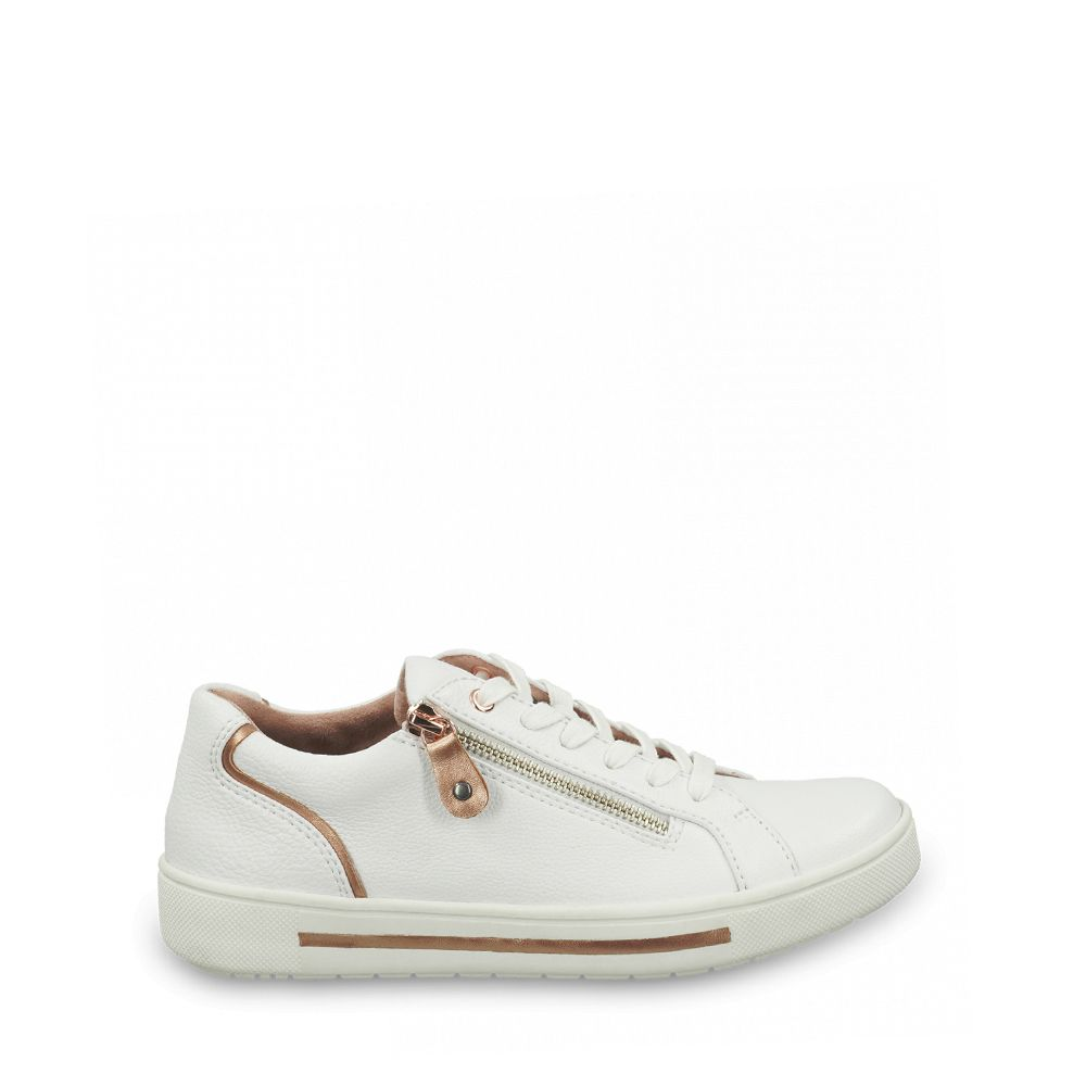 Γυναικεία Sneakers Jana Softline 23660 White/Rosegold