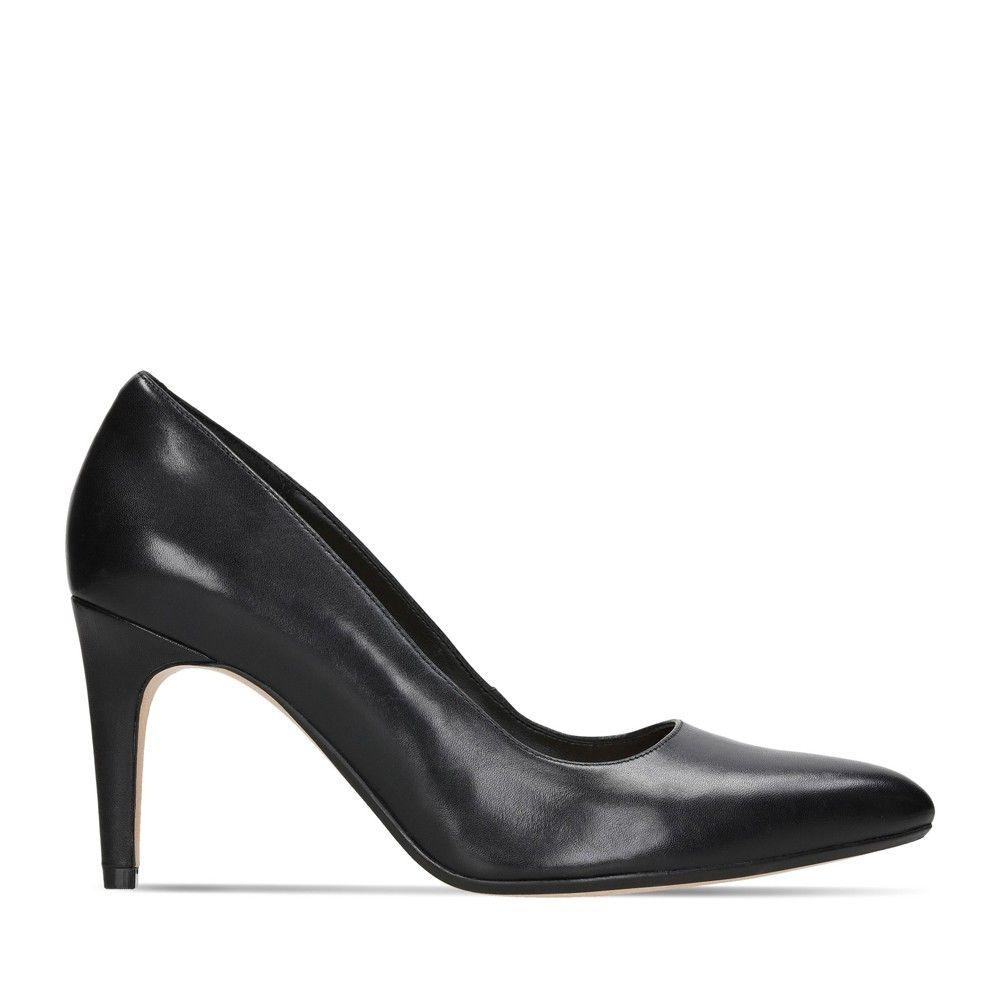 Γυναικείες Γόβες Clarks Laina Rae 2 Black Leather