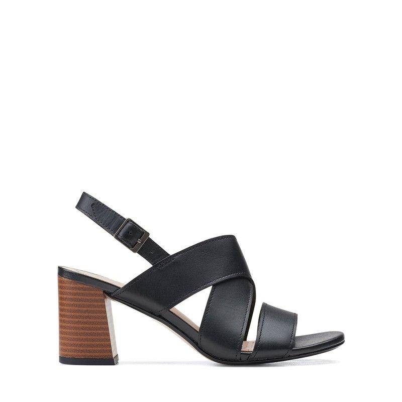Γυναικεία Πέδιλα Clarks Jocelynne Bao Black Leather
