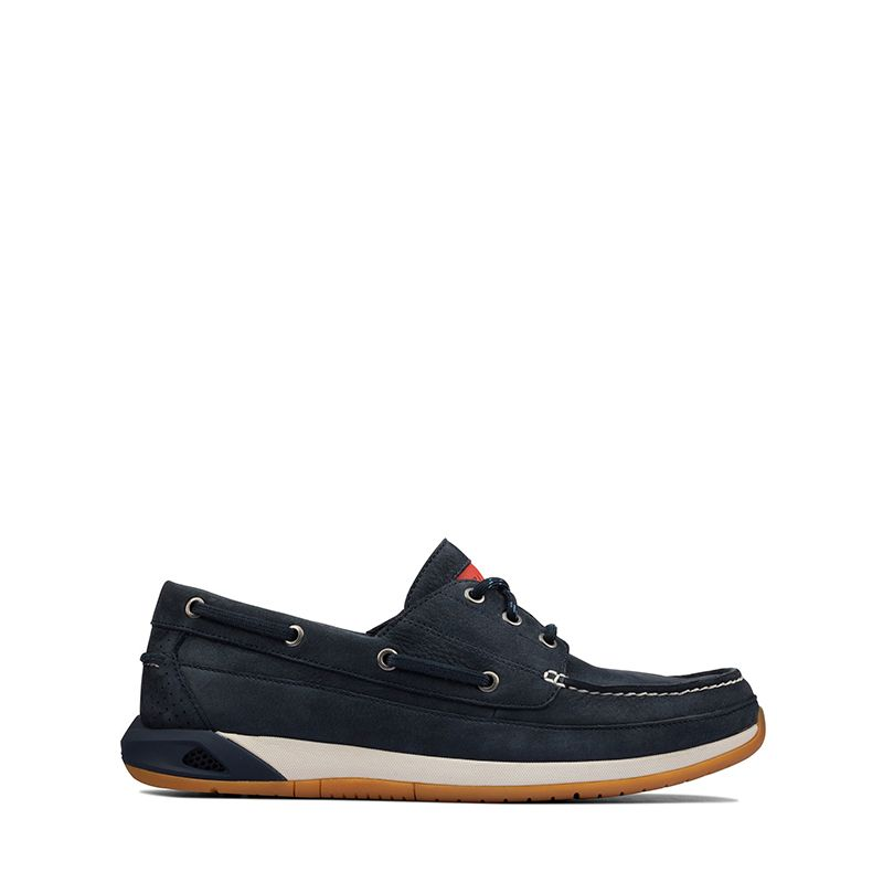 Ανδρικά Boat Shoes Clarks Ormand Boat Navy nubuck