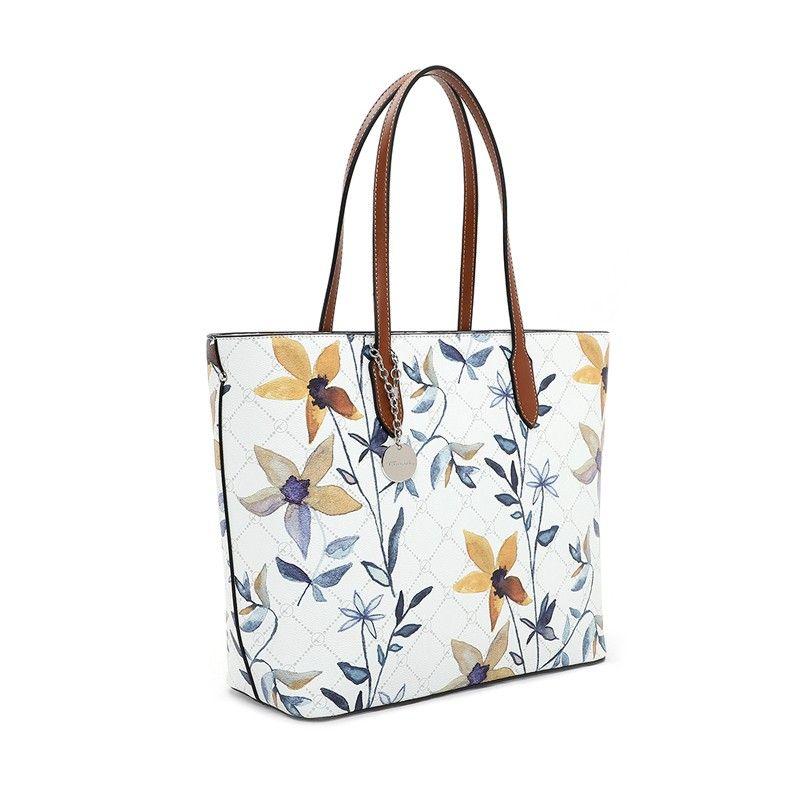 Γυναικεία Τσάντα Tamaris Anastasia 30924 White Flower