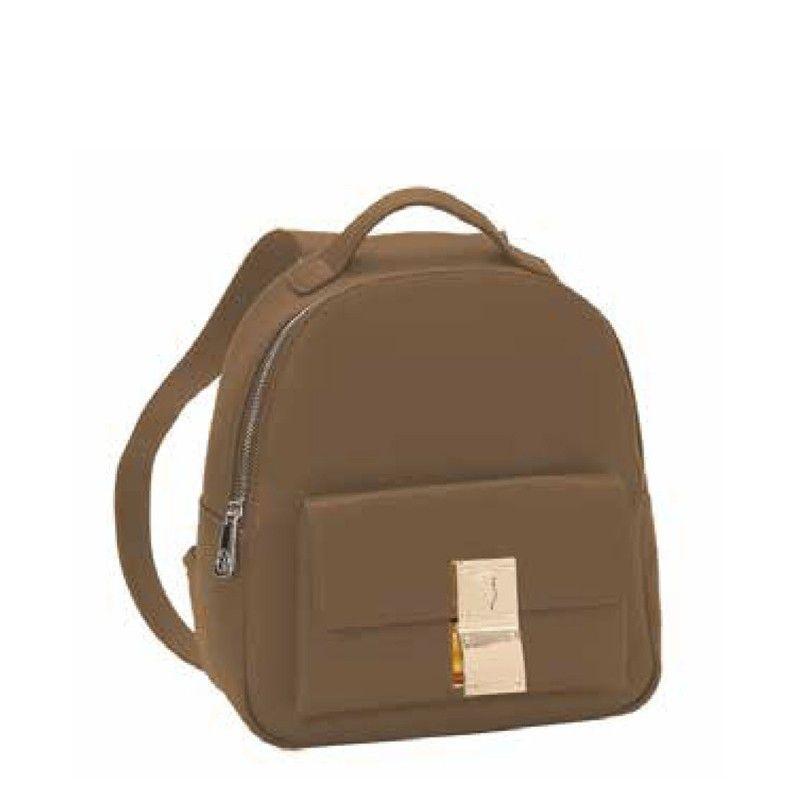 Γυναικείο Backpack Trussardi Medium Lione Brown