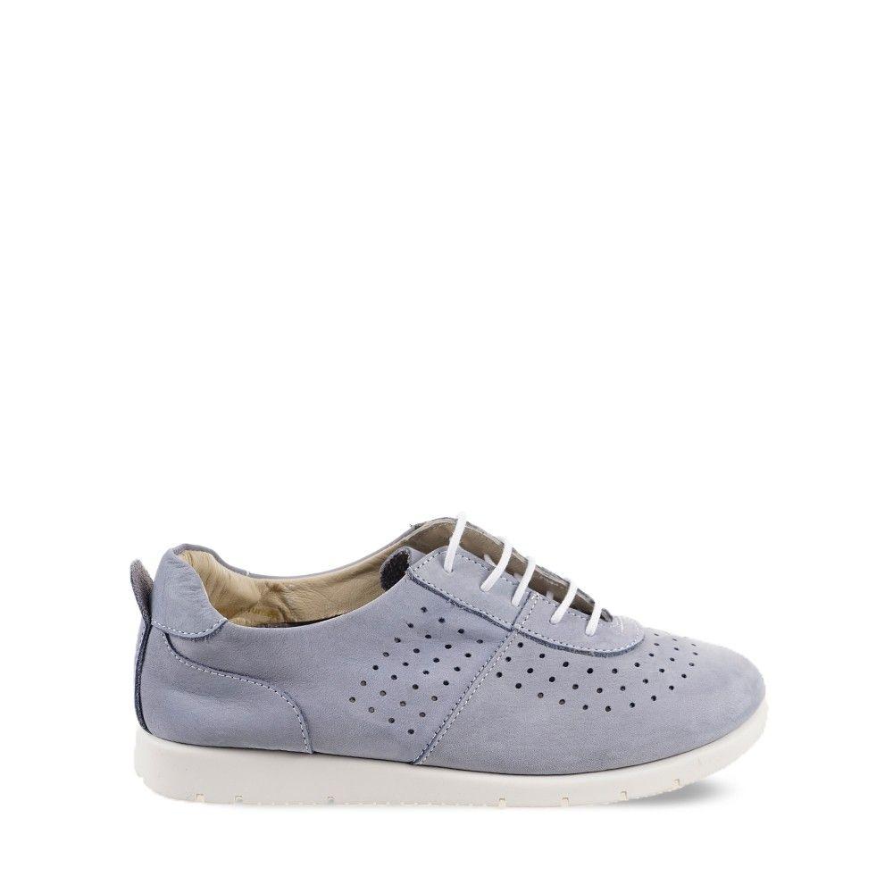Γυναικεία Sneakers Wave MS-9056 Steel Blue