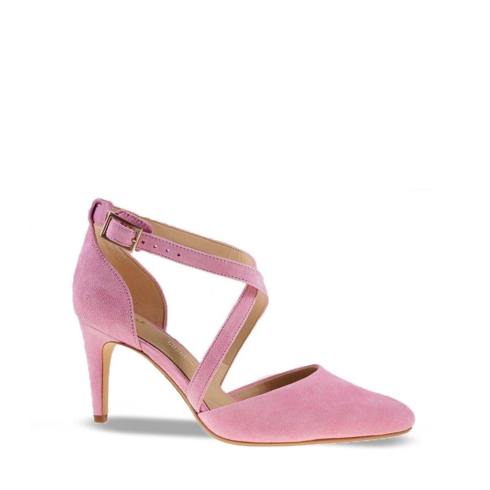 Γυναικεία Πέδιλα Clarks Laina85 Cross Pink Suede
