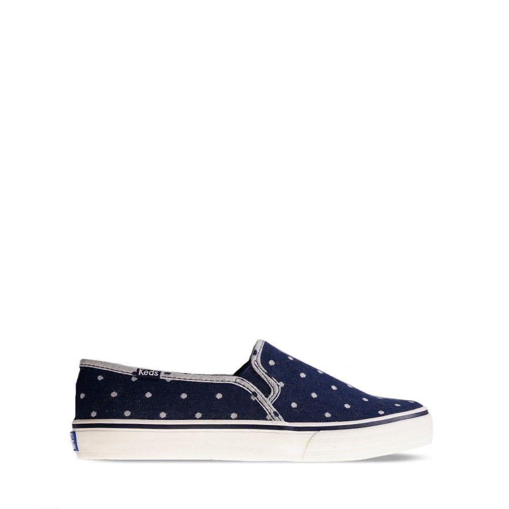 Γυναικεία Πάνινα Παπούτσια Keds WF54676 Dot Navy