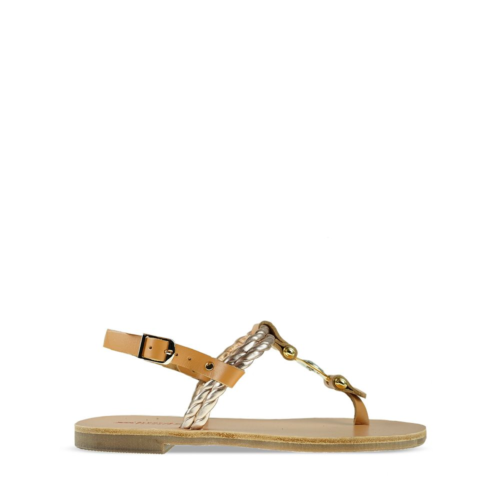 Γυναικεία Σανδάλια Olympus Sandals 1291 Natural