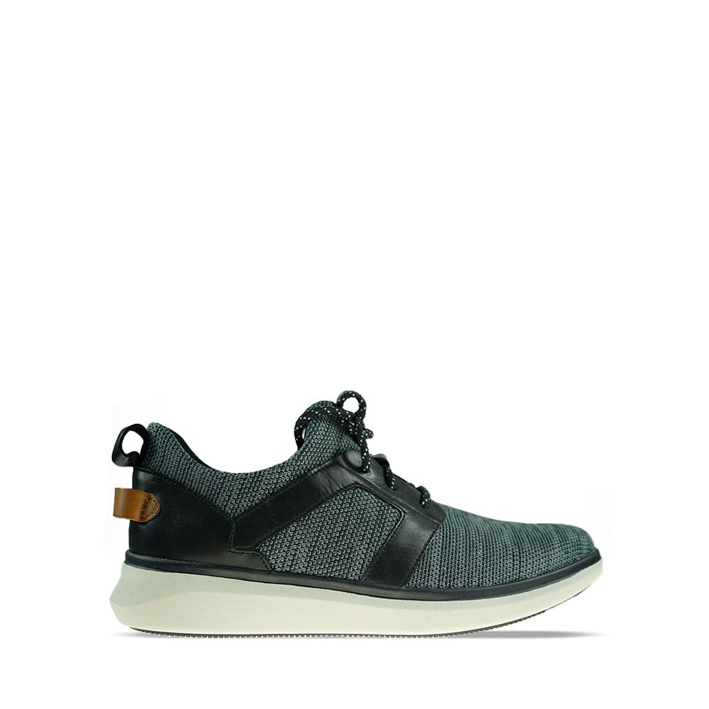 Ανδρικά Sneakers Clarks Un Globe Lace Black