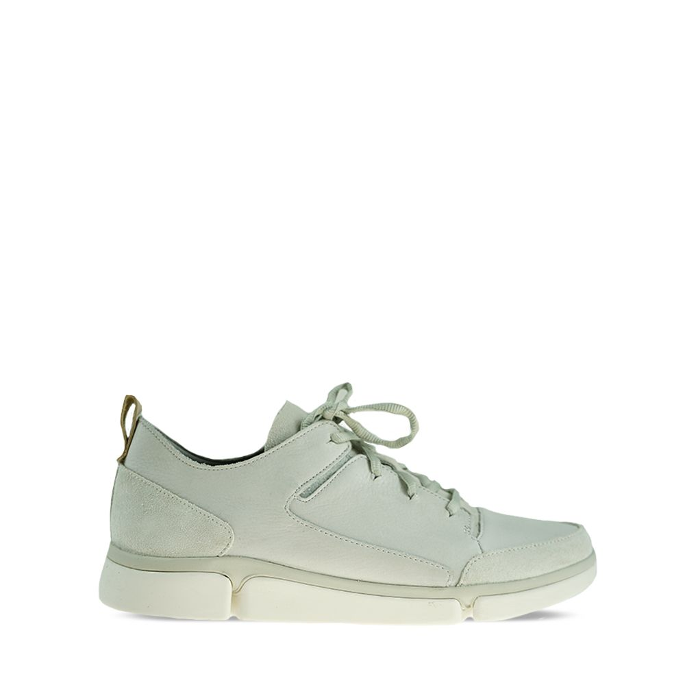 Ανδρικά Sneakers Clarks Tri Verve lace White Leather