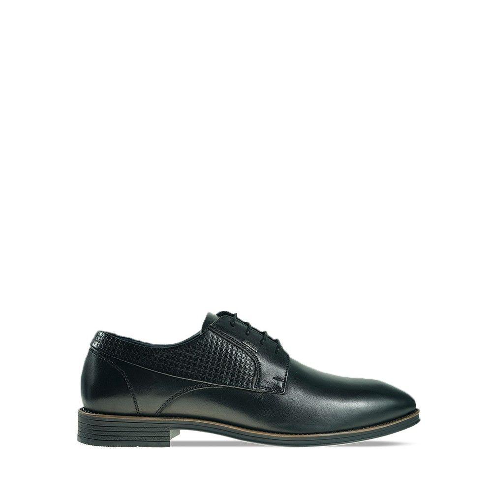 Ανδρικά Σκαρπίνια S.Oliver 13201 Black Leather