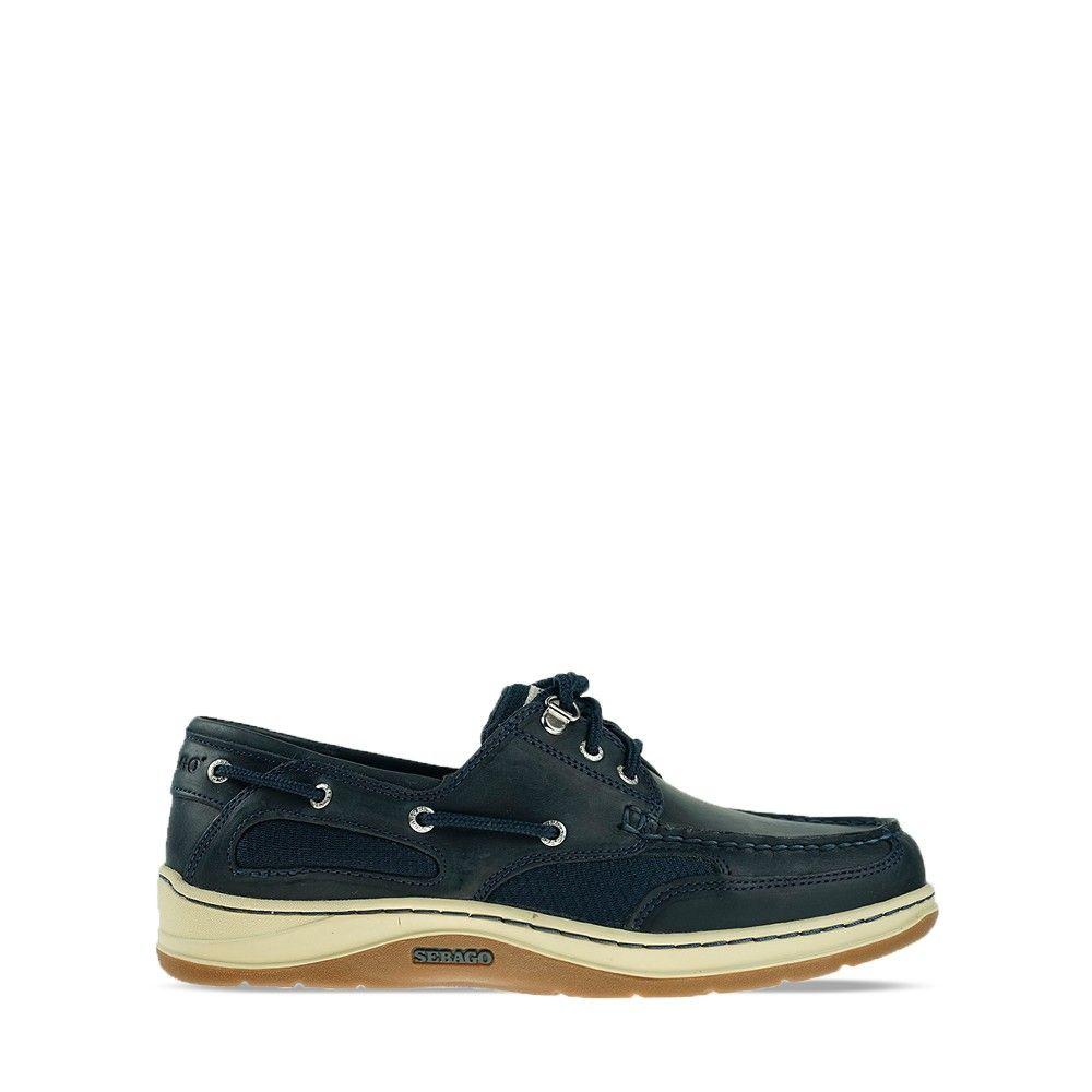 Ανδρικά Boat Shoes Sebago Clovehitch II FL Waxed Blue Navy