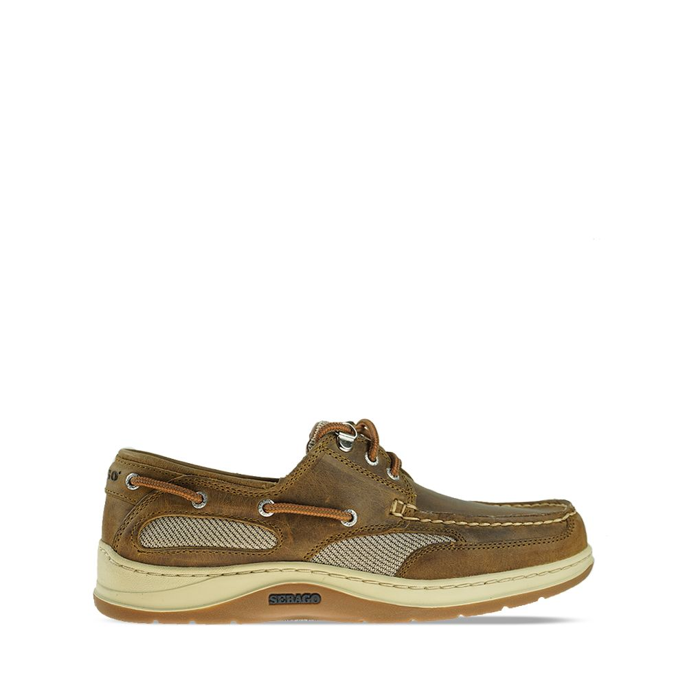 Ανδρικά Boat Shoes Sebago Clovehitch II FL Waxed Brown Cinnamon