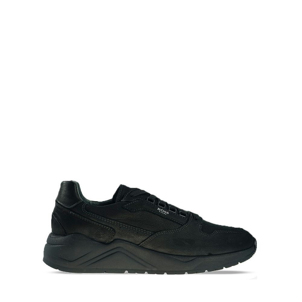 Ανδρικά Sneakers Boss P421 Black Nubuck