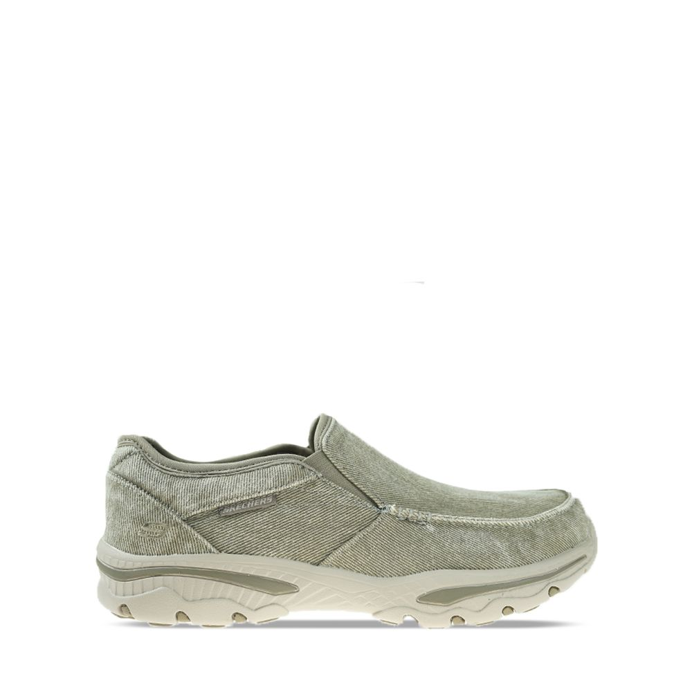 Ανδρικά Slip-on Skechers Moc toe Taupe