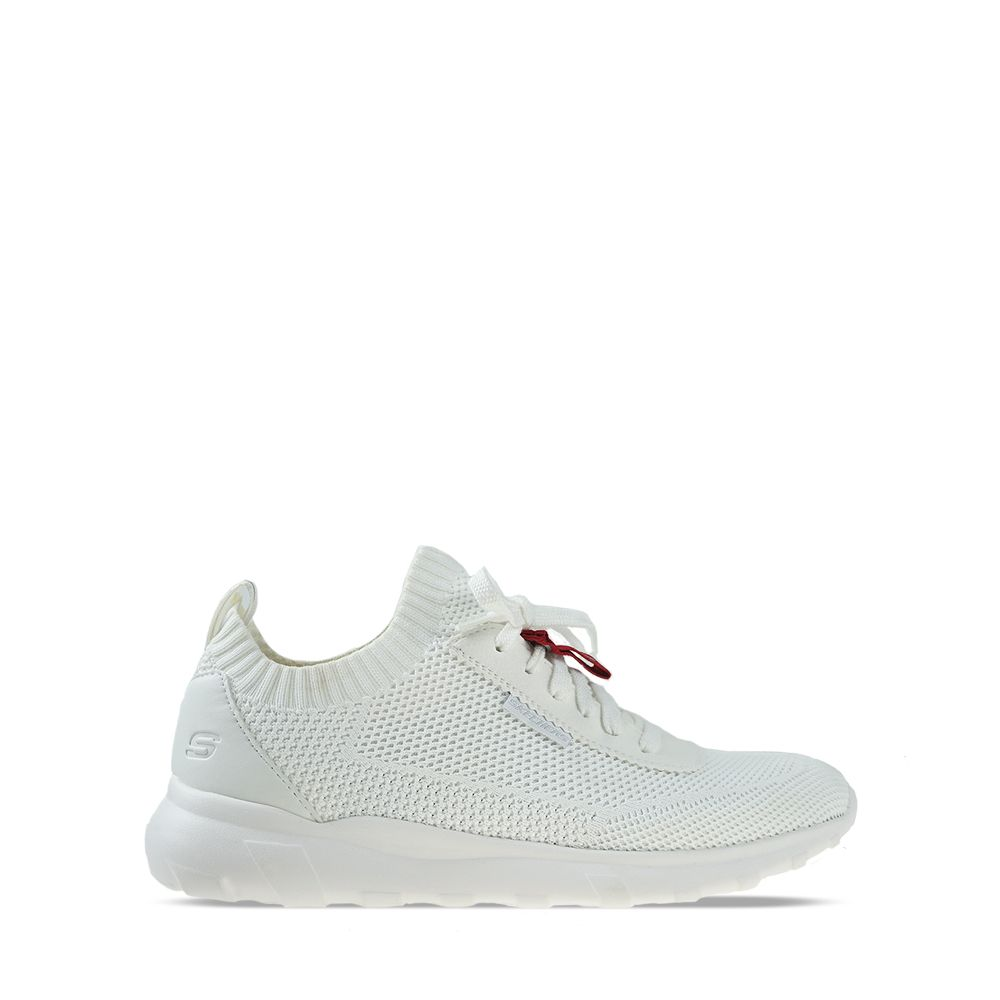 Ανδρικά Sneakers Skechers Burger Nicson White