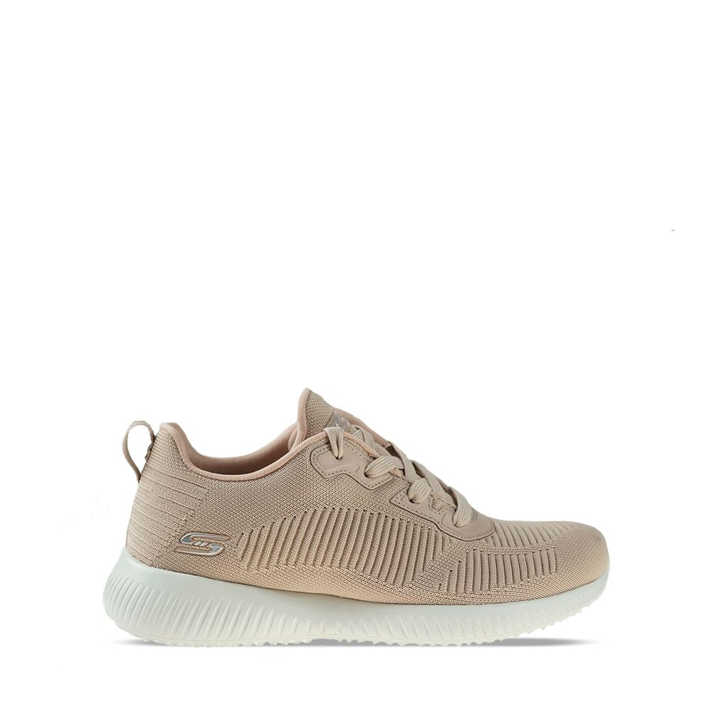 Γυναικεία Sneakers Skechers BOBS Sport Squad Tough Talk Nude