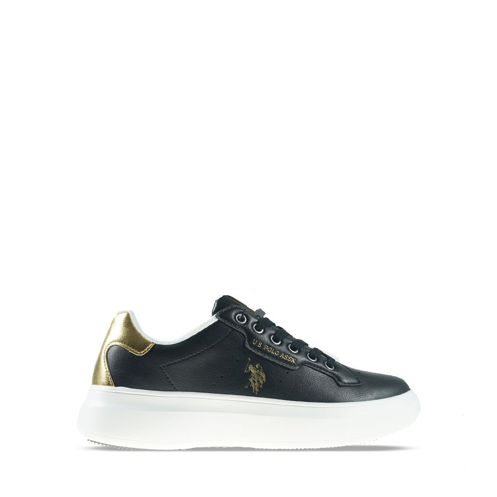 Γυναικεία Sneakeers Us Polo Jewel029 Black-Gold