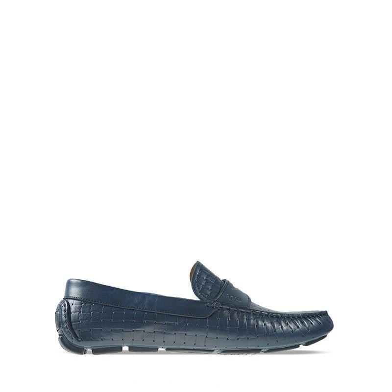 Ανδρικά Μοκασίνια Boss Q5784  Blue Woven