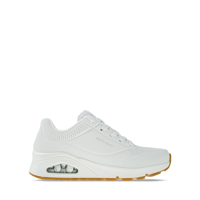 Γυναικείο Sneaker Skechers Uno-Stand on Air White