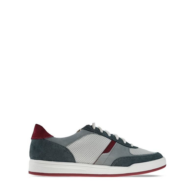 Ανδρικά Sneakers Clarks Bizby Lace Dark Grey Combi