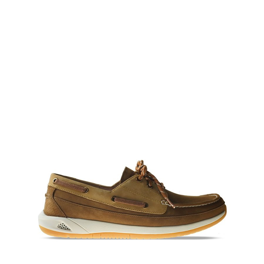 Ανδρικά Boat Shoes Clarks Ormand Boat Tan Nubuck
