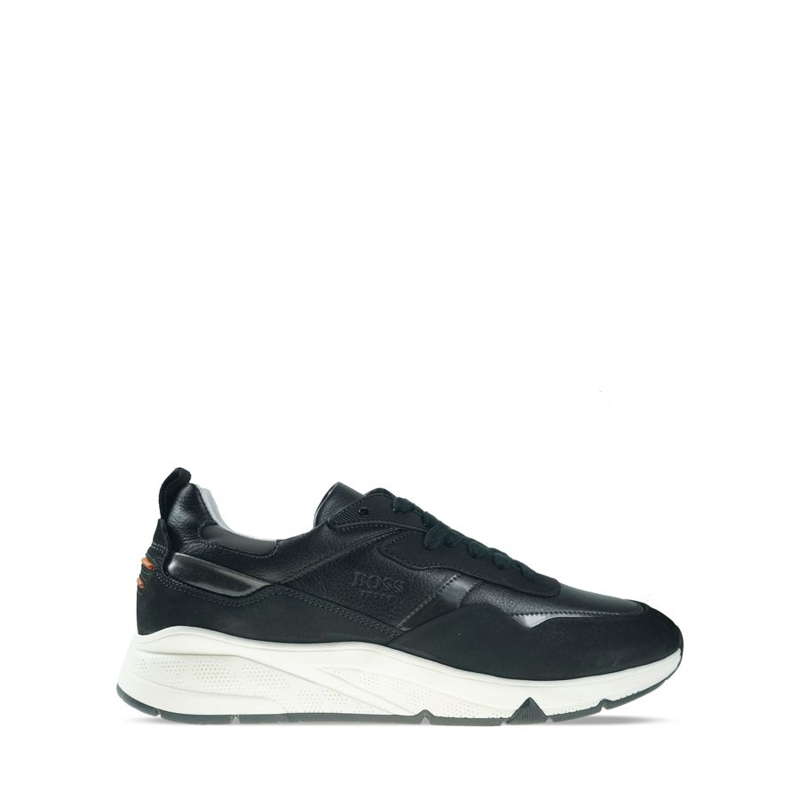 Ανδρικά Sneakers Boss QT372 Black Burn