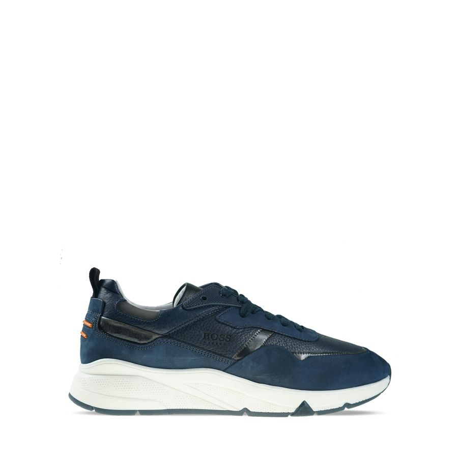 Ανδρικά Sneakers Boss QT372 Blue Burn