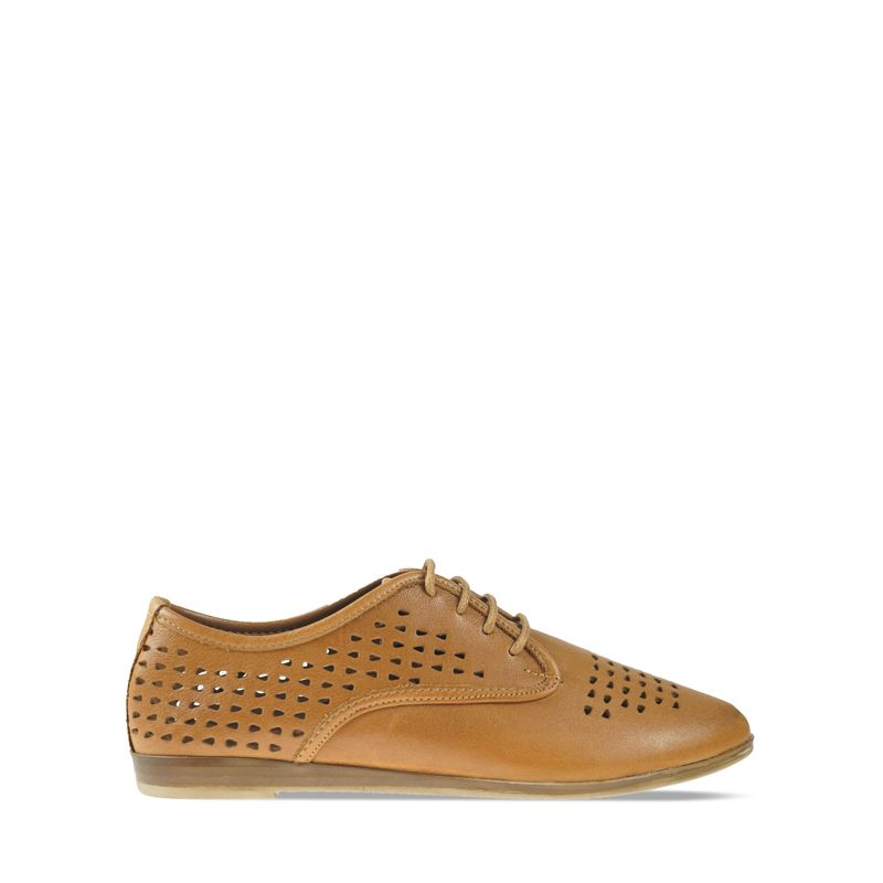 Γυναικεία Oxfords Wave 9111 Nappa coconut