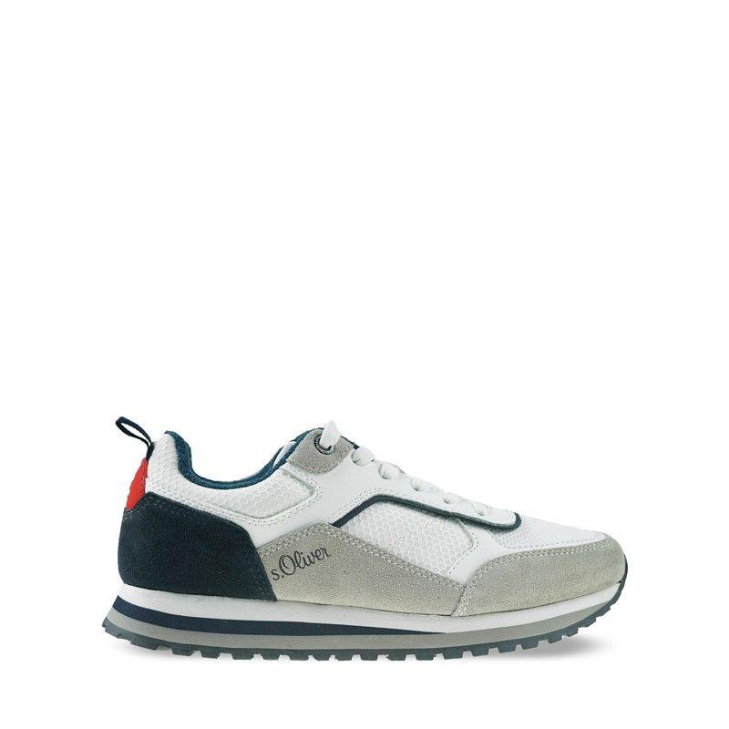Ανδρικά Sneakers S Oliver 13624 White Comb