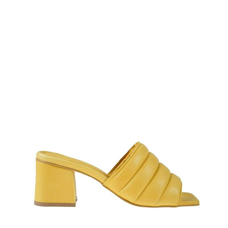 Γυναικεία Mules Esthissis Salenthal Yellow