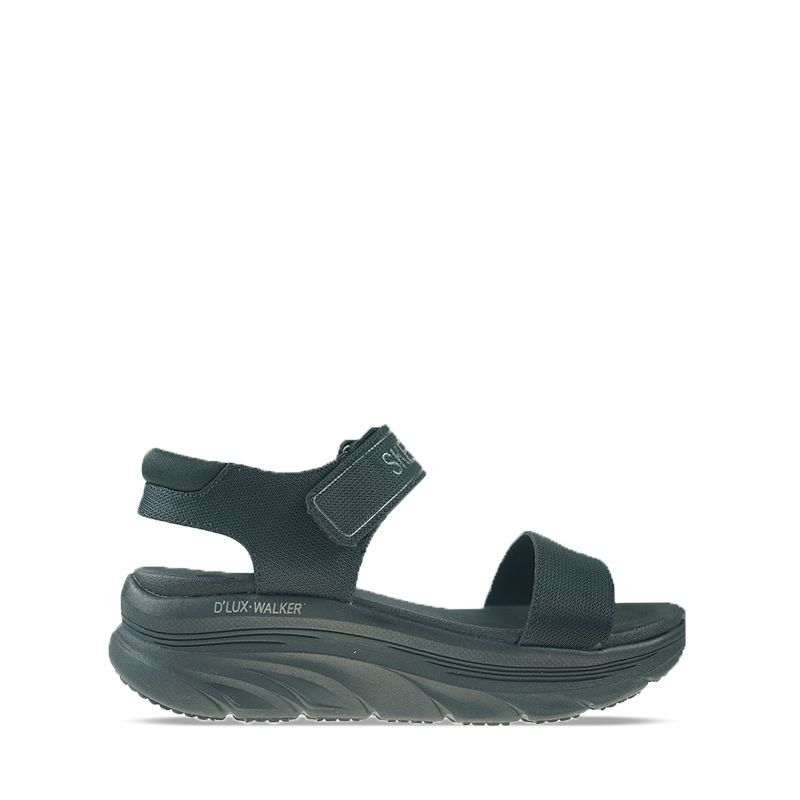 Γυναικεία Σανδάλια Skechers D'Lux Walker-New Block Black