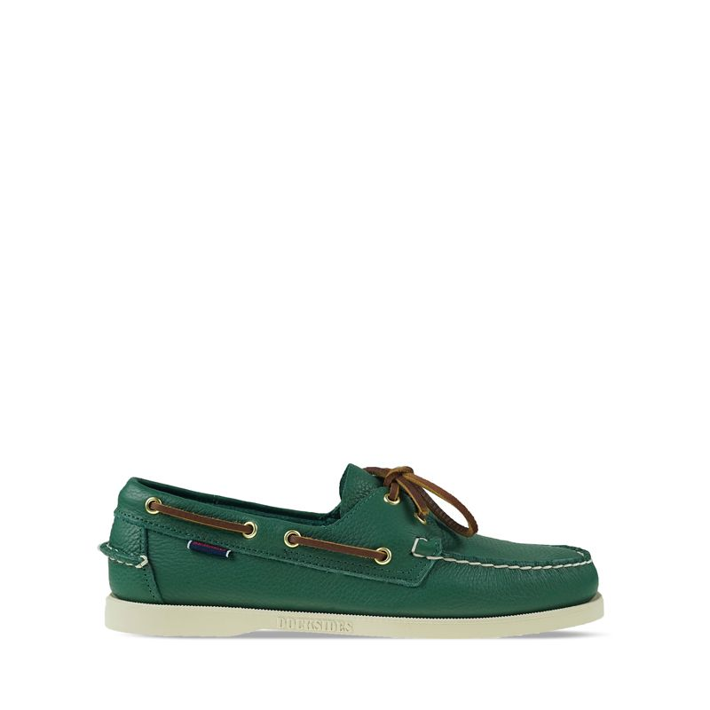 Ανδρικά Boat Shoes Sebago Tumbled Green