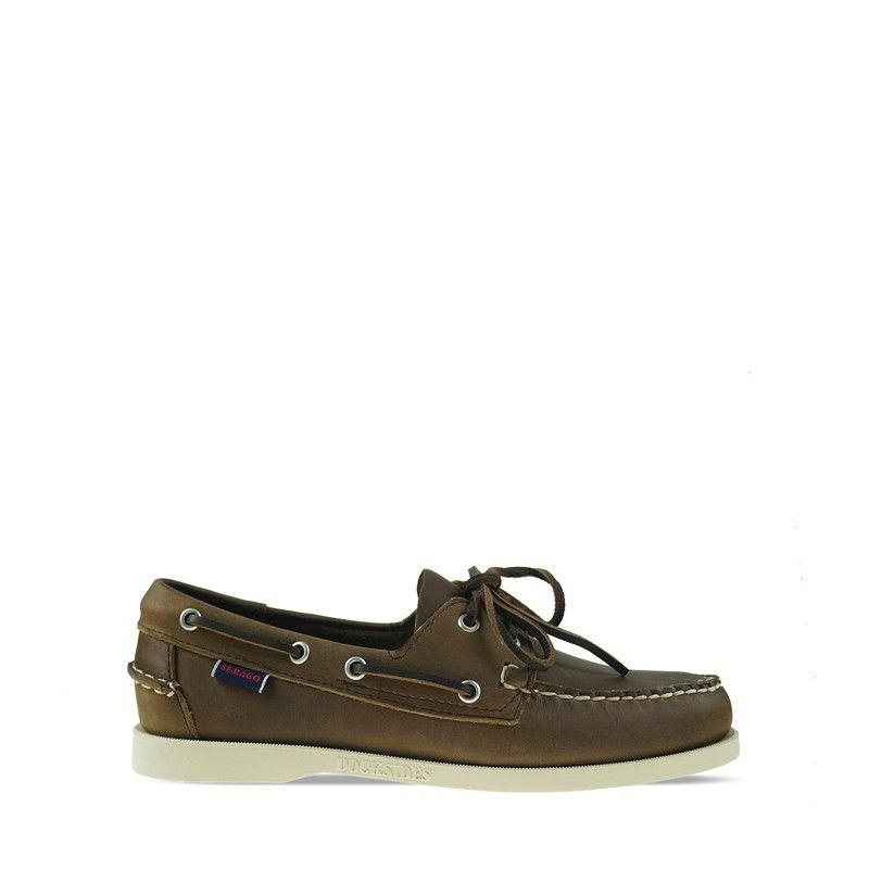 Ανδρικά Boat Shoes Sebago DockSides Portland BUDU Brown