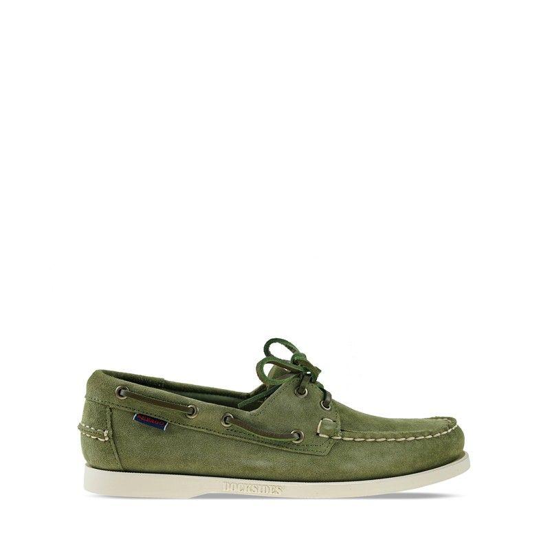 Ανδρικά Boat Shoes Sebago Portland Flesh Out Green Military
