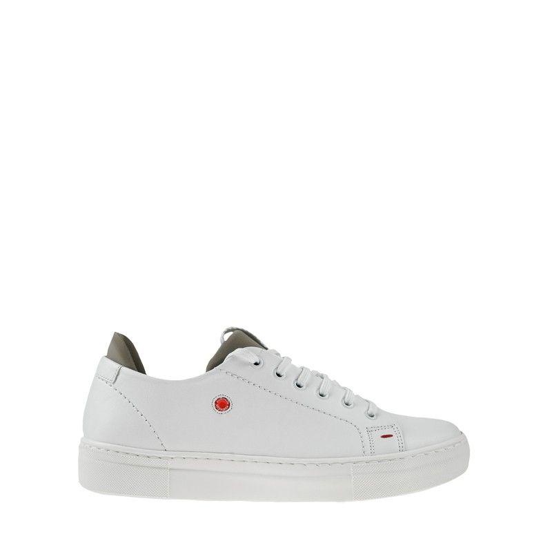 Ανδρικά Sneakers Robinson 2370 Λευκό Γκρι