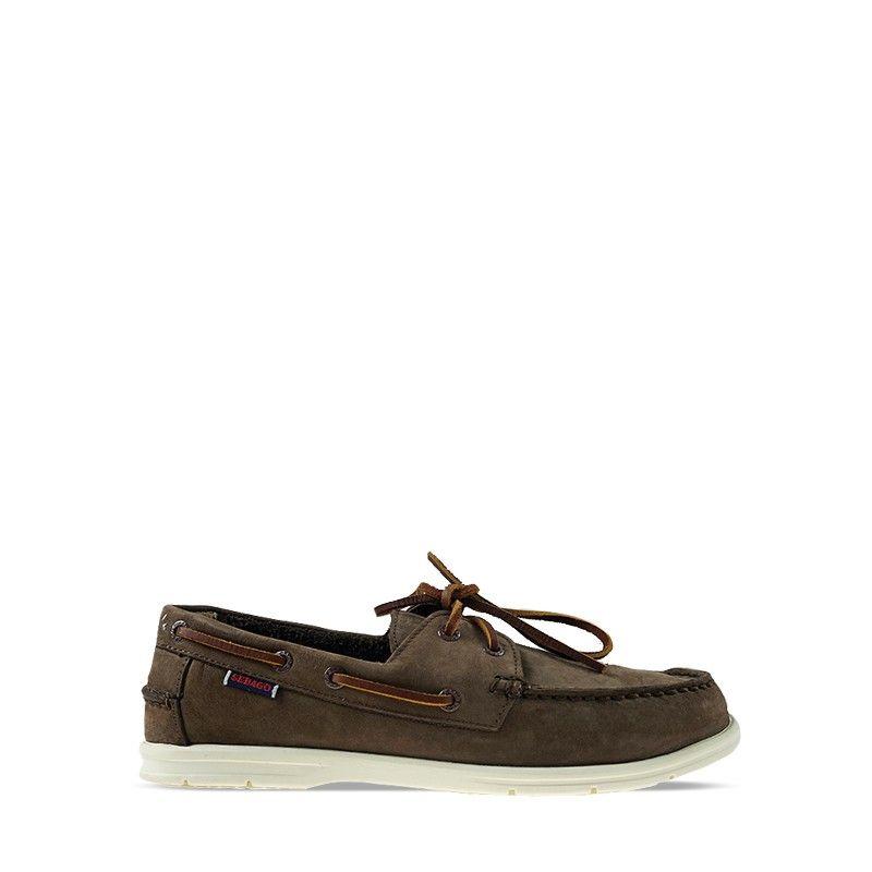 Ανδρικά Boat Shoes Sebago Naples NBK Dk Brown