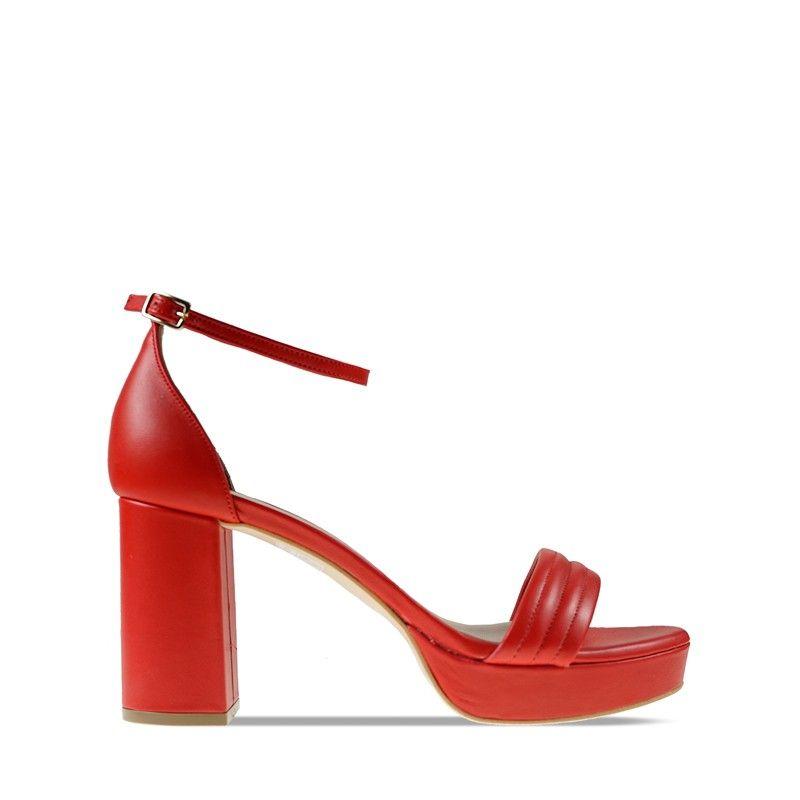 Γυναικείο Πέδιλο Mourtzi 55-553F06 Red