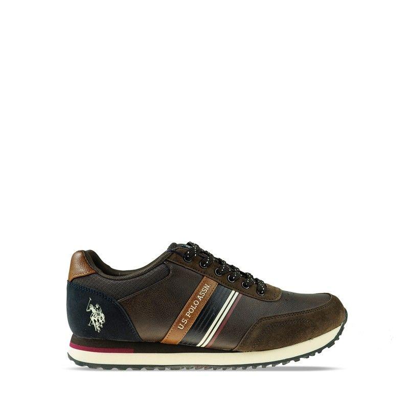 Ανδρικό Sneaker Us polo Xirio001 Brown