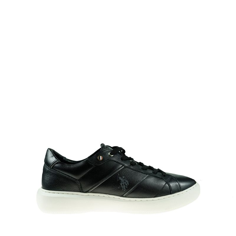 Ανδρικό Sneaker Us polo Cryme001 Black