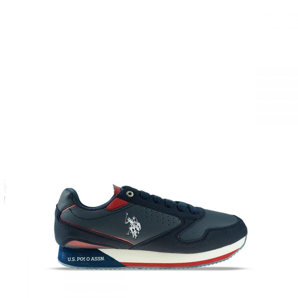 Ανδρικά Sneaker Us polo Nobil003 Dark Blue