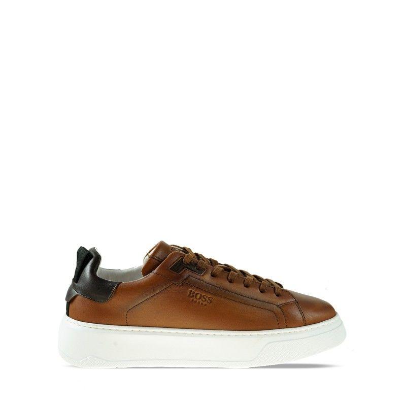 Ανδρικά Sneaker Boss  RU321 Cognac Burn
